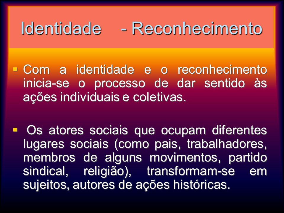 Identidade - Reconhecimento