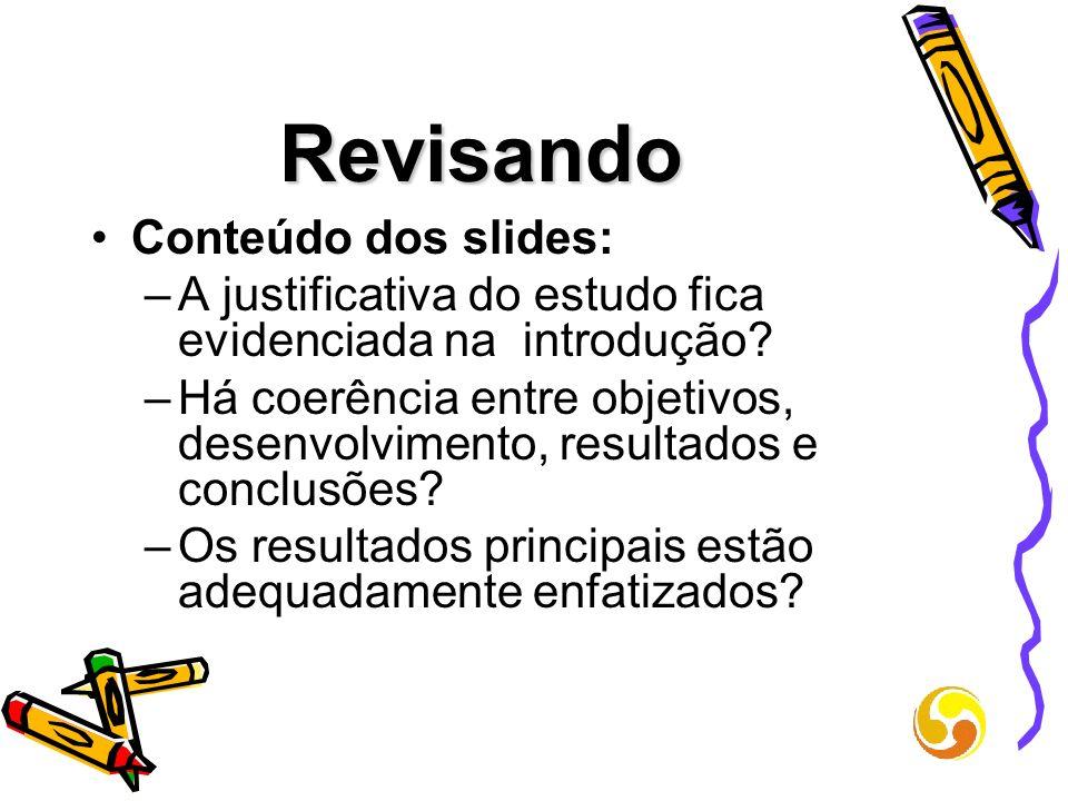 Revisando Conteúdo dos slides: