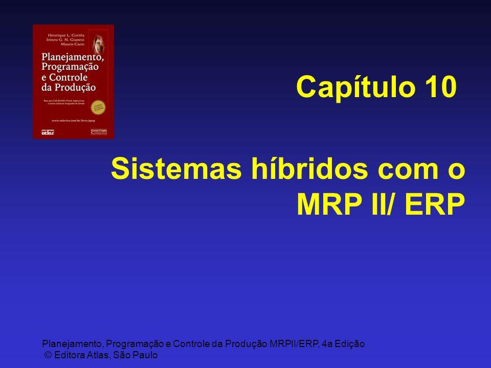 Capítulo 10 Sistemas híbridos com o MRP II/ ERP