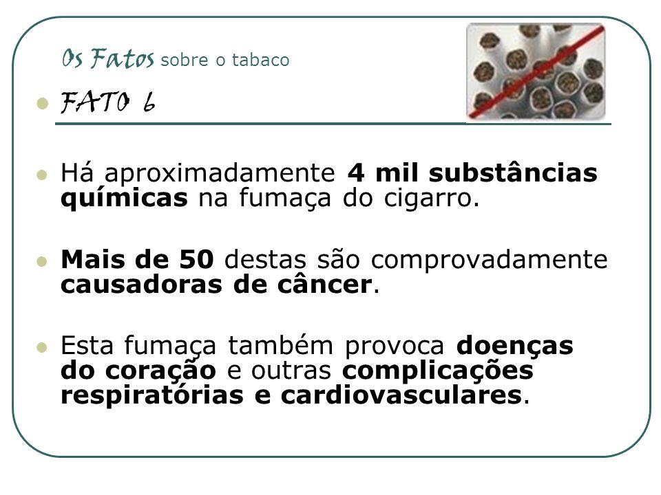 FATO 6 Os Fatos sobre o tabaco