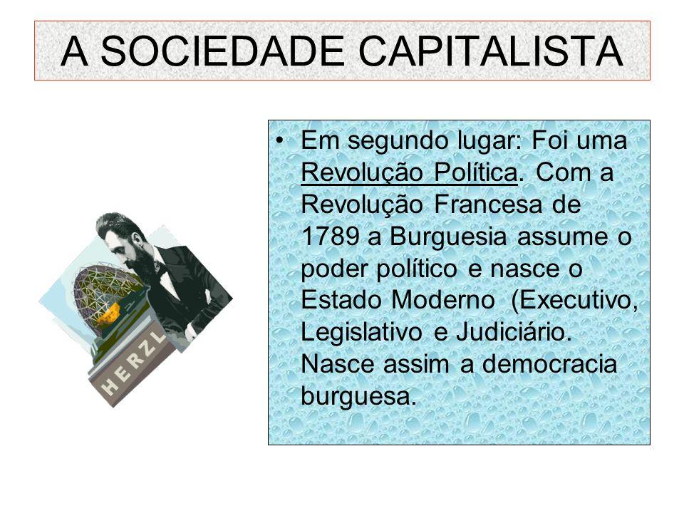 A SOCIEDADE CAPITALISTA