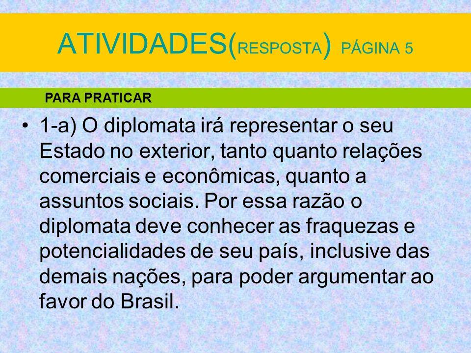 ATIVIDADES(RESPOSTA) PÁGINA 5
