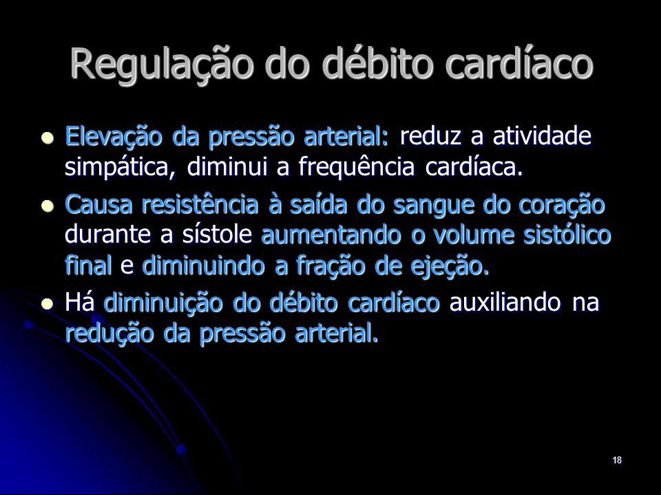 Regulação do débito cardíaco