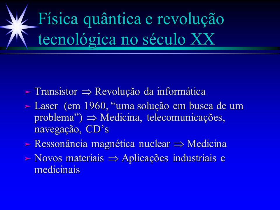Física quântica e revolução tecnológica no século XX