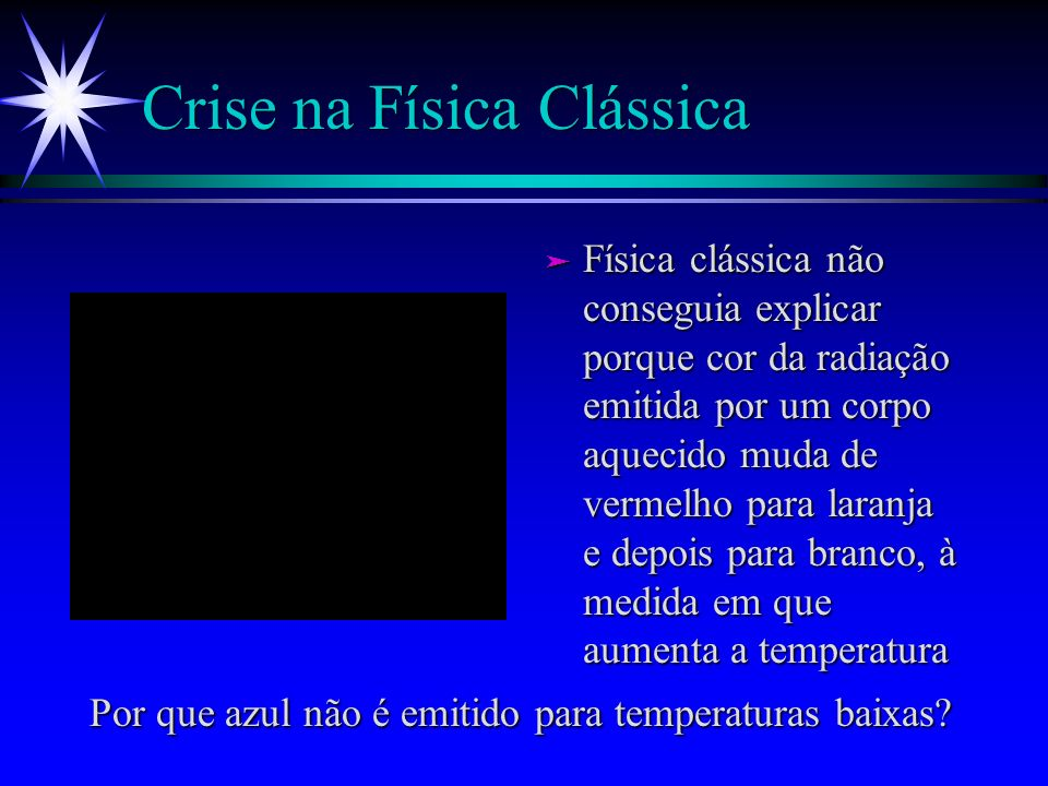 Crise na Física Clássica