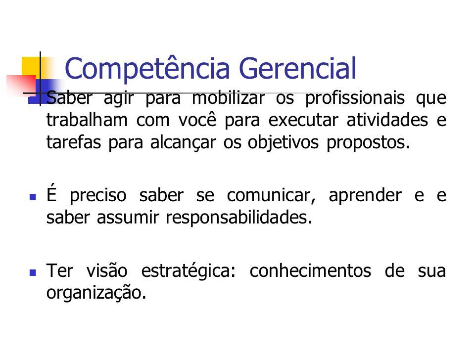 Competência Gerencial