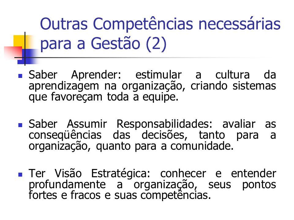 Outras Competências necessárias para a Gestão (2)