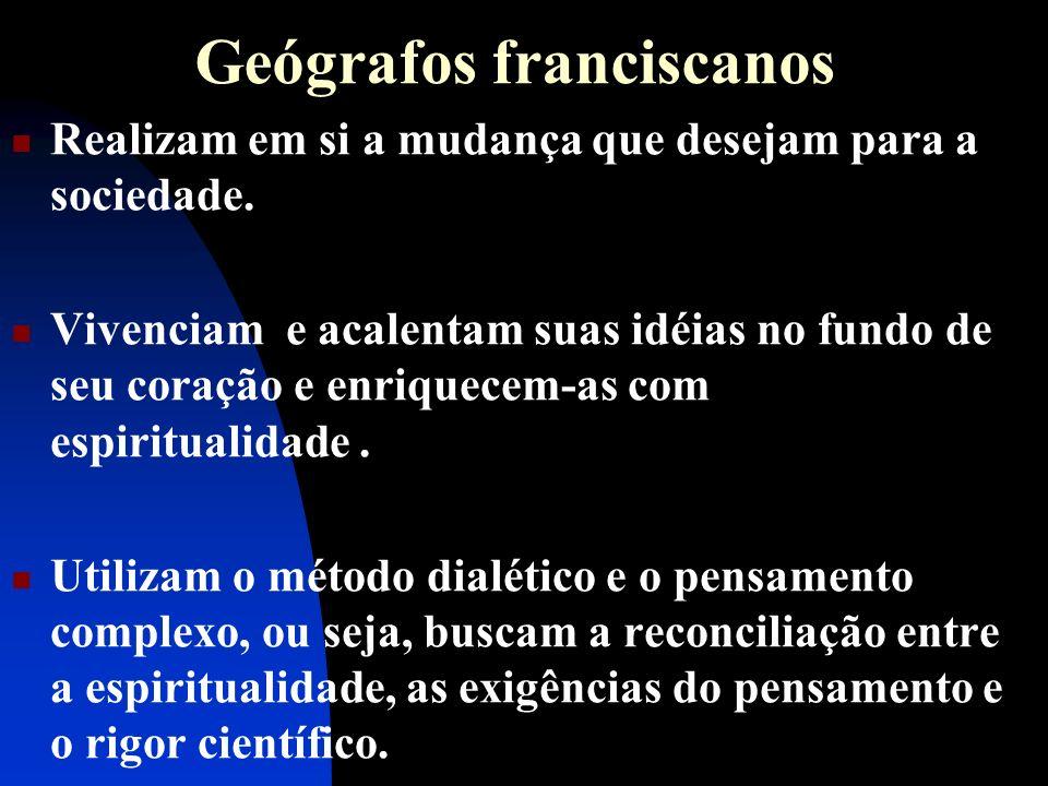 Geógrafos franciscanos