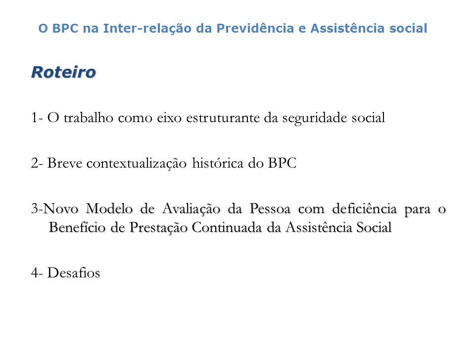 1- O trabalho como eixo estruturante da seguridade social