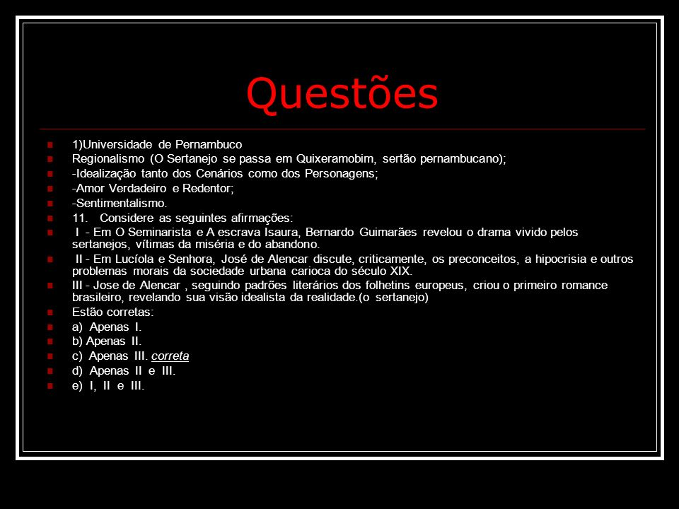 Questões 1)Universidade de Pernambuco