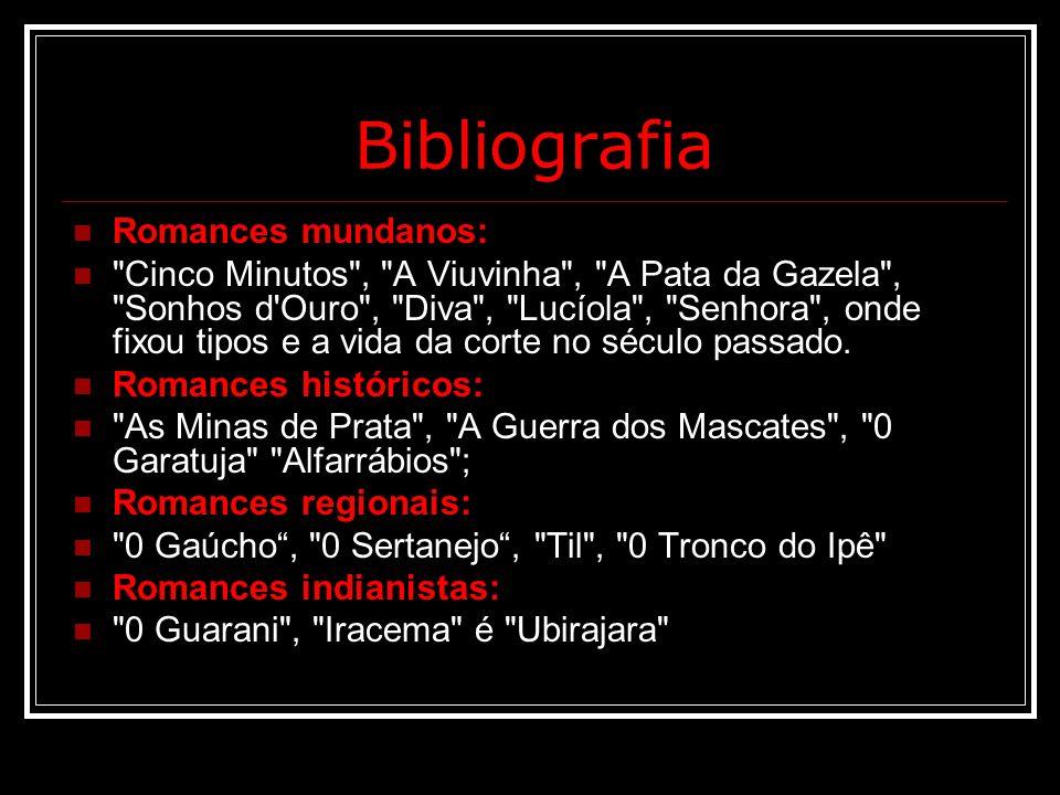 Bibliografia Romances mundanos: