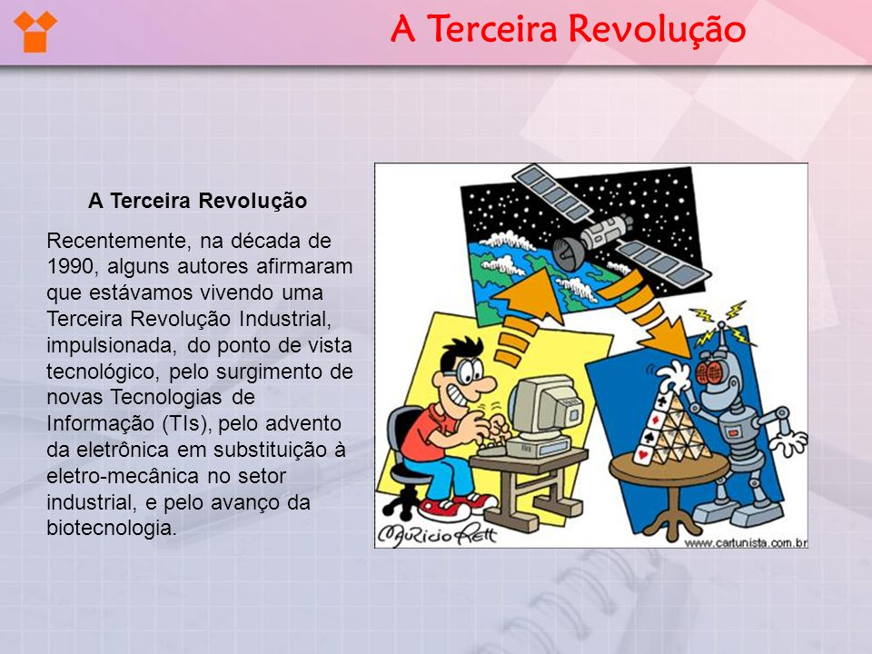 A Terceira Revolução A Terceira Revolução