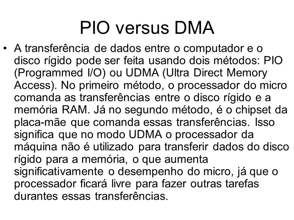 PIO versus DMA