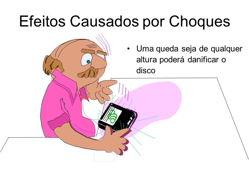 Efeitos Causados por Choques