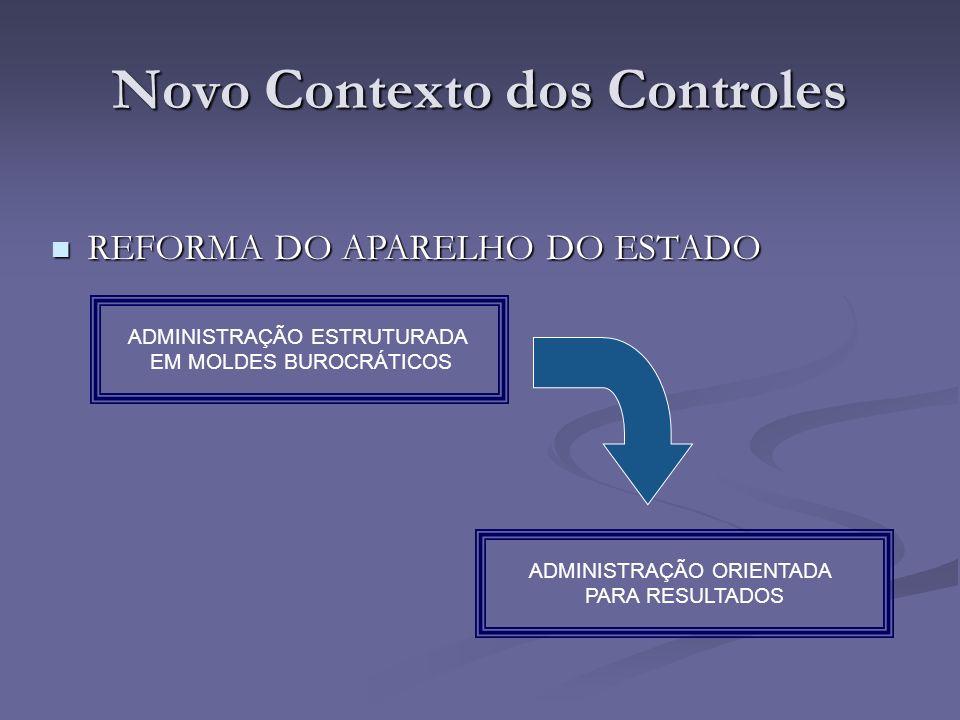 Novo Contexto dos Controles
