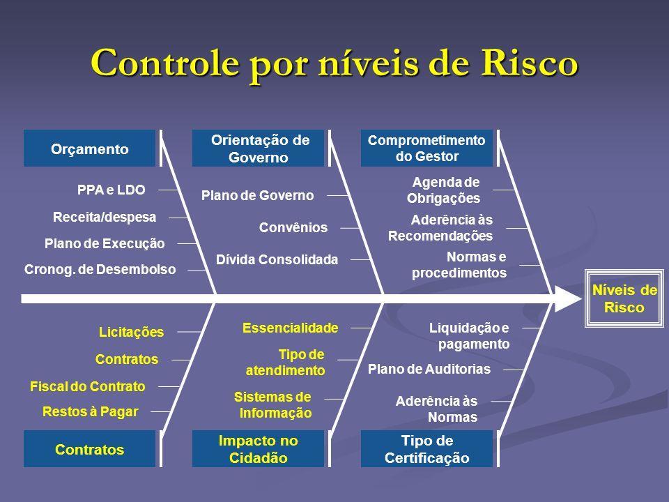 Controle por níveis de Risco