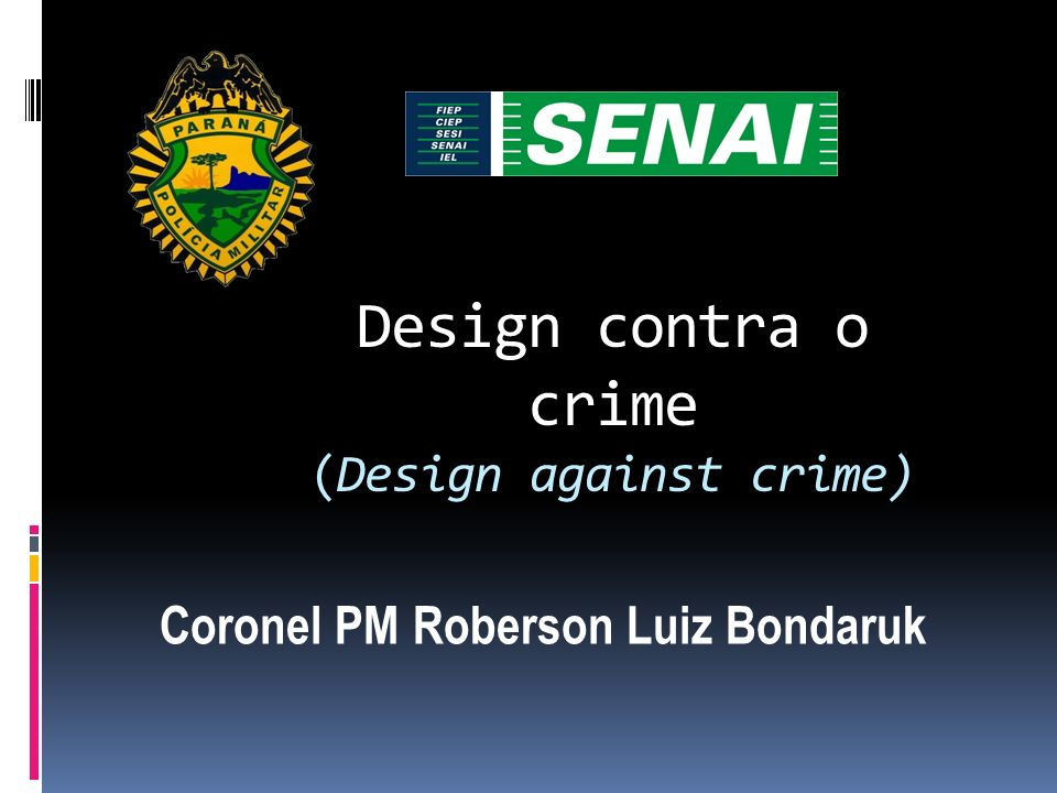 Design contra o crime (Design against crime)