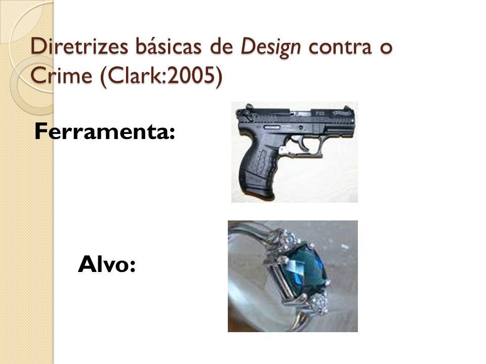 Diretrizes básicas de Design contra o Crime (Clark:2005)