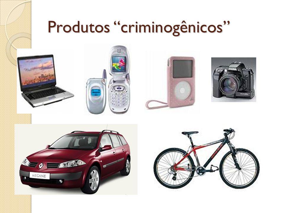 Produtos criminogênicos