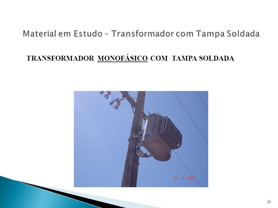 Material em Estudo – Transformador com Tampa Soldada