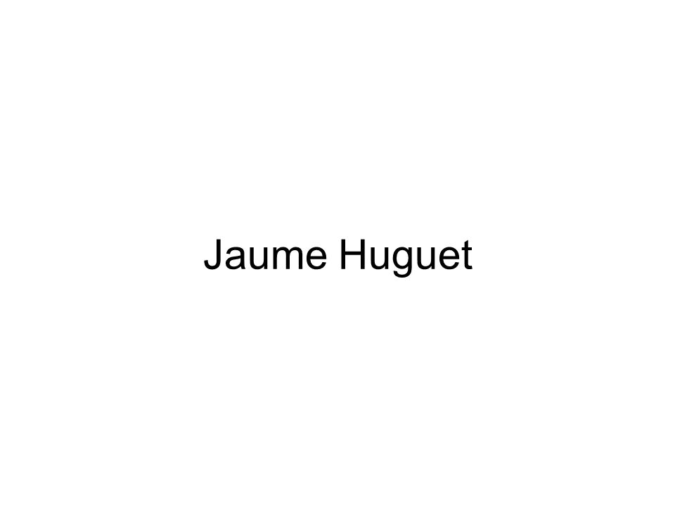 Jaume Huguet