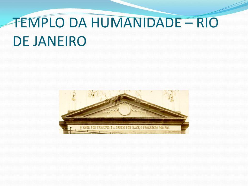 TEMPLO DA HUMANIDADE – RIO DE JANEIRO