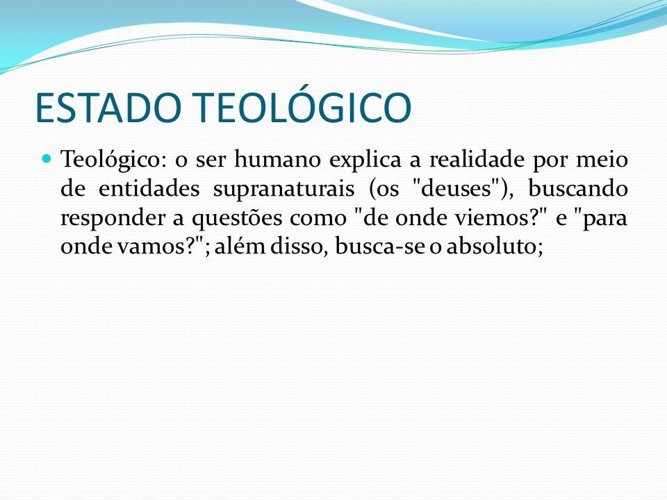 ESTADO TEOLÓGICO