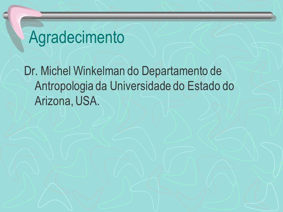 Agradecimento Dr.