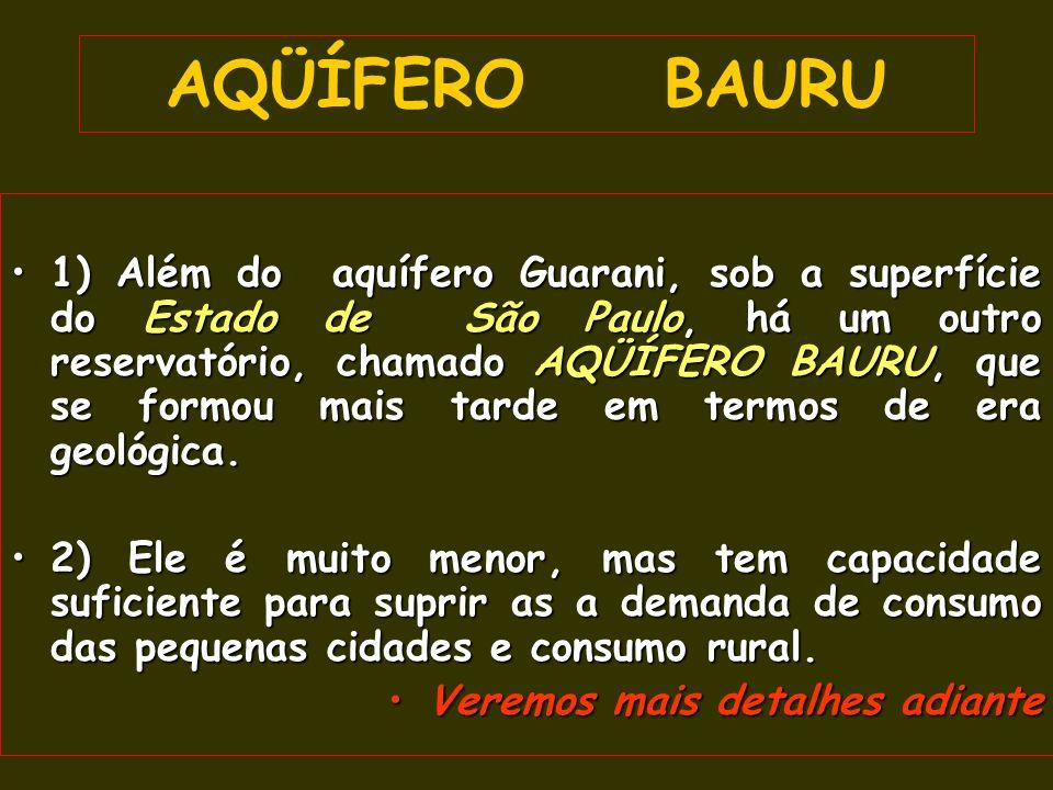 AQÜÍFERO BAURU