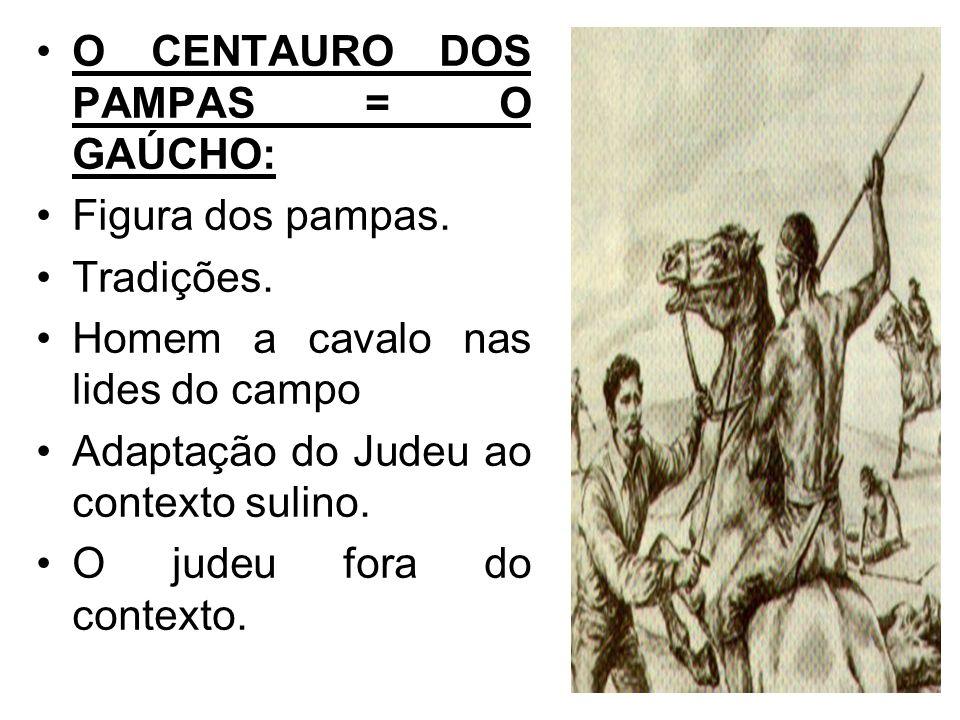 O CENTAURO DOS PAMPAS = O GAÚCHO: