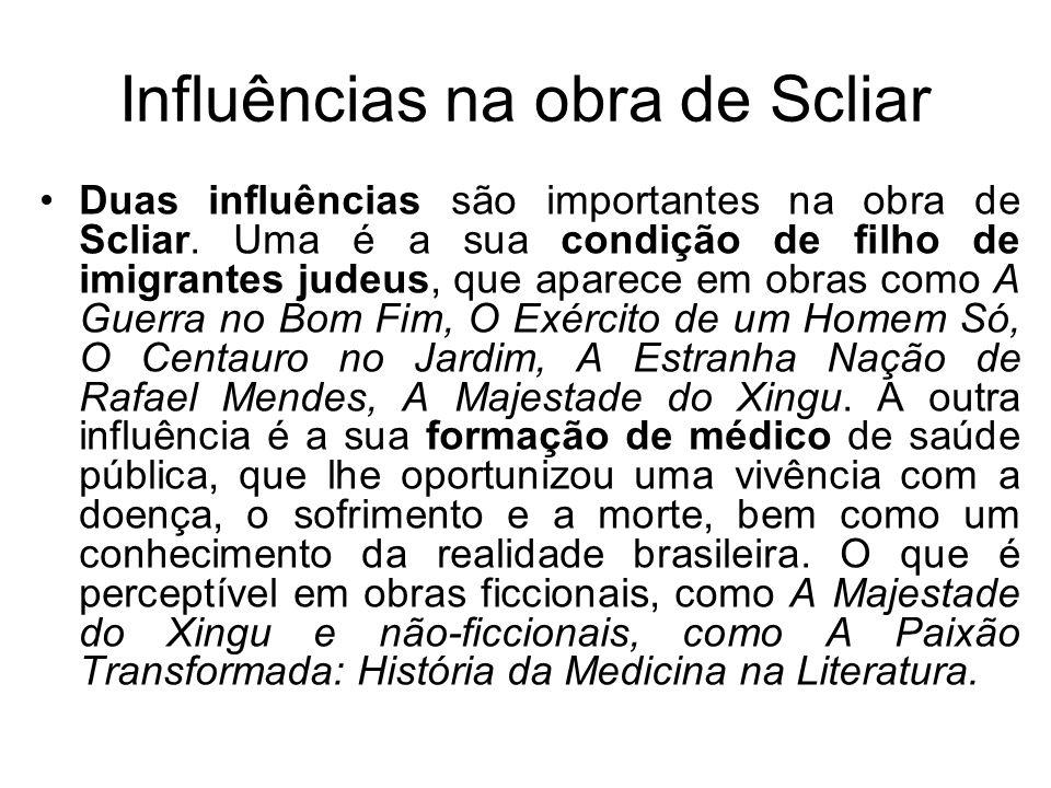 Influências na obra de Scliar