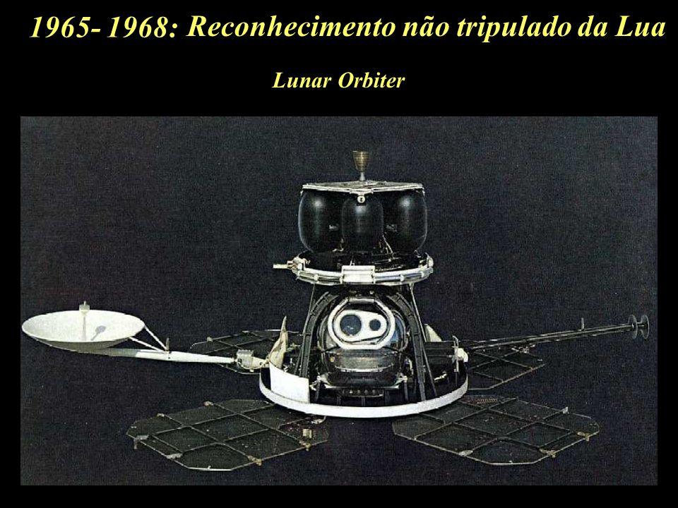 Reconhecimento não tripulado da Lua