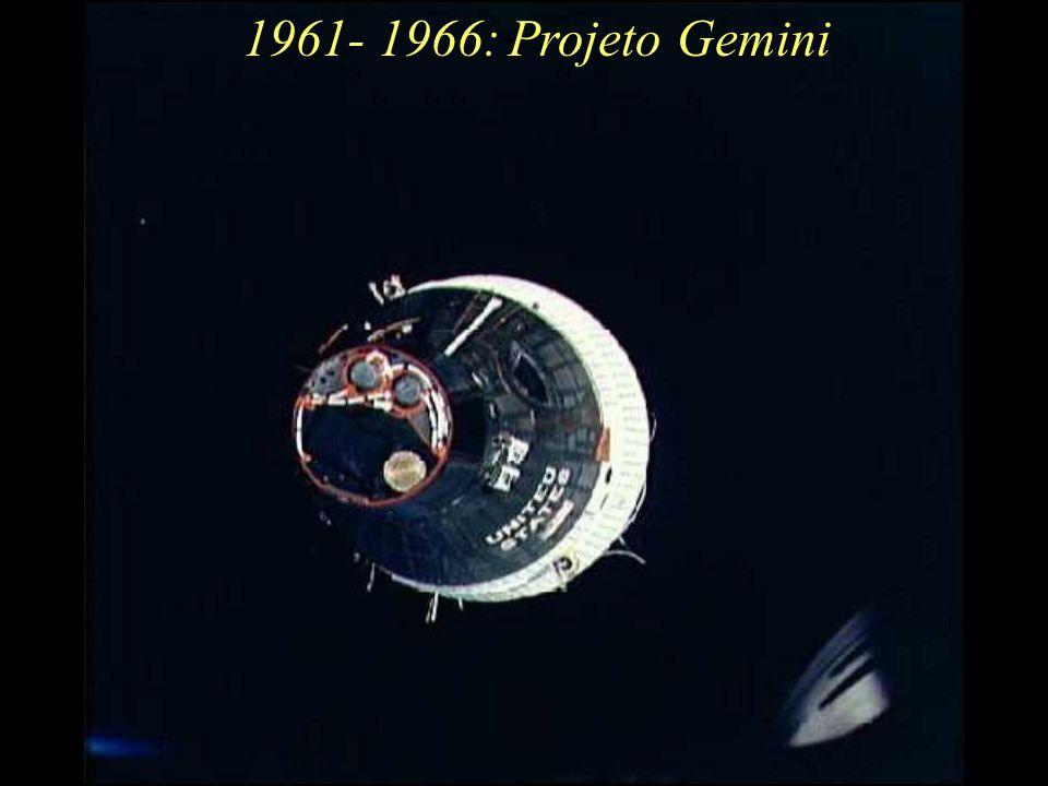 1961- 1966: Projeto Gemini