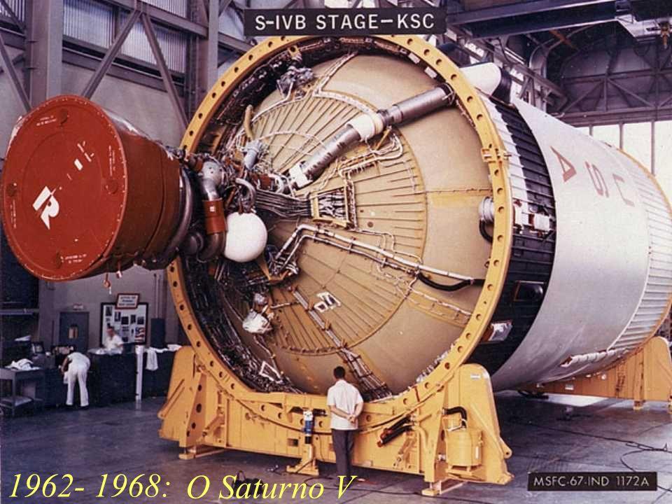 1962- 1968: O Saturno V