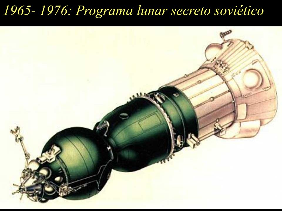 1965- 1976: Programa lunar secreto soviético