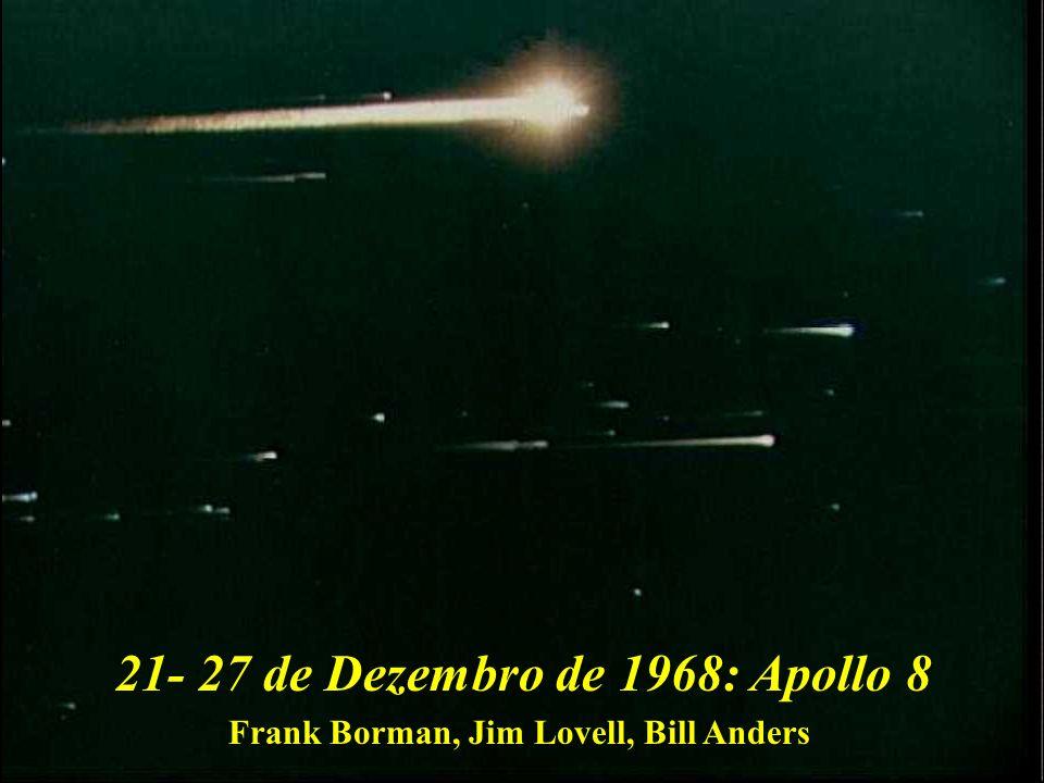 21- 27 de Dezembro de 1968: Apollo 8