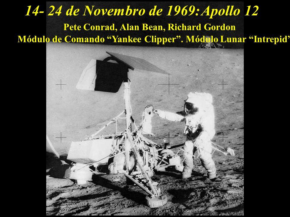14- 24 de Novembro de 1969: Apollo 12