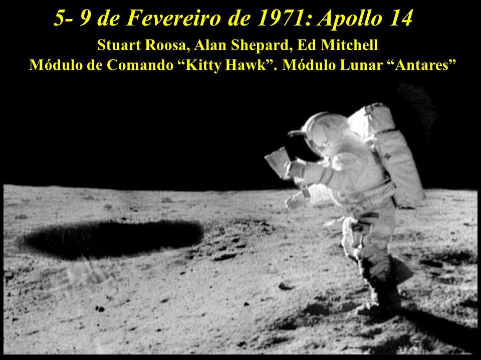 5- 9 de Fevereiro de 1971: Apollo 14