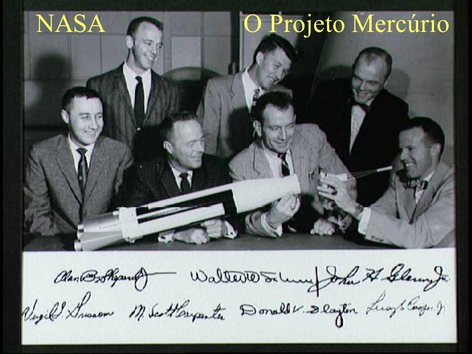 NASA O Projeto Mercúrio
