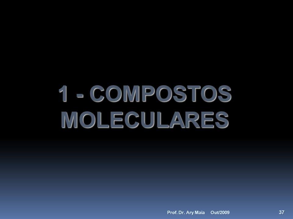 1 - COMPOSTOS MOLECULARES