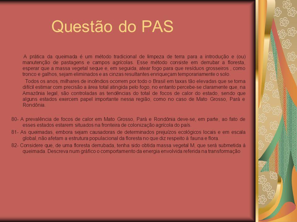 Questão do PAS