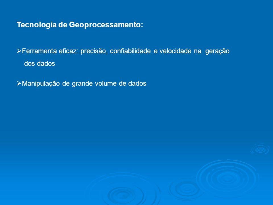 Tecnologia de Geoprocessamento:
