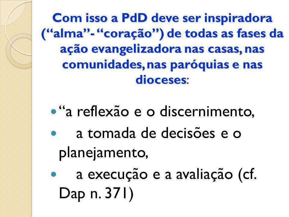 a reflexão e o discernimento, a tomada de decisões e o planejamento,