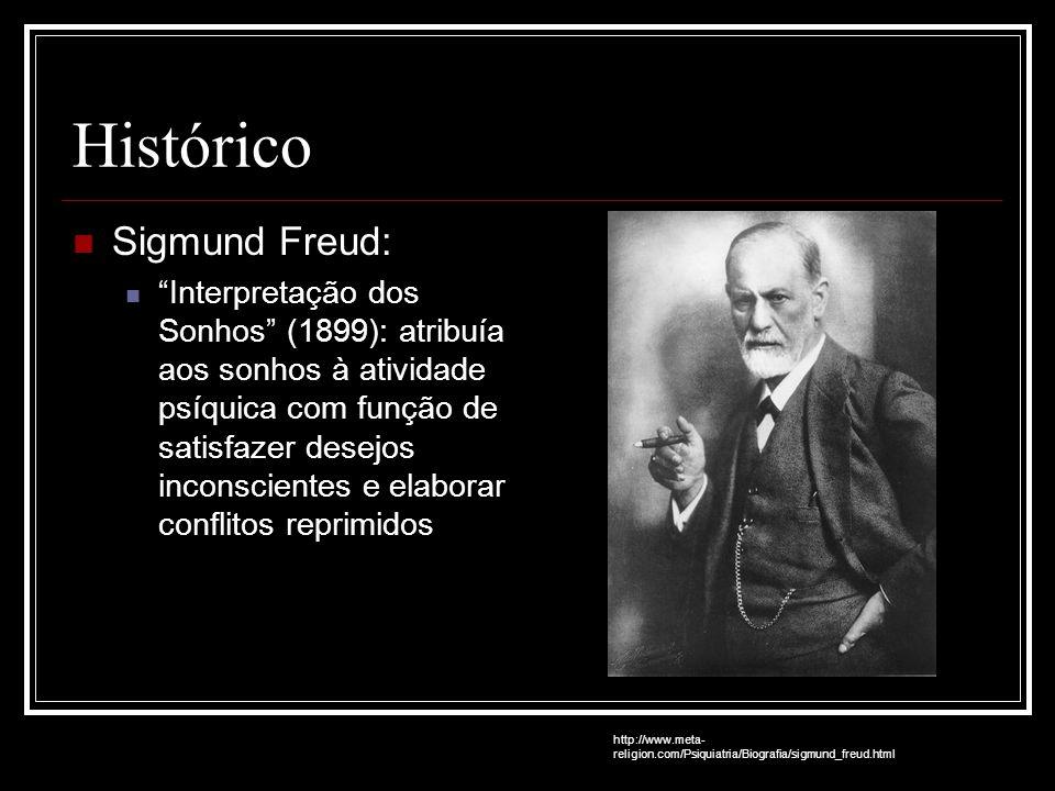 Histórico Sigmund Freud: