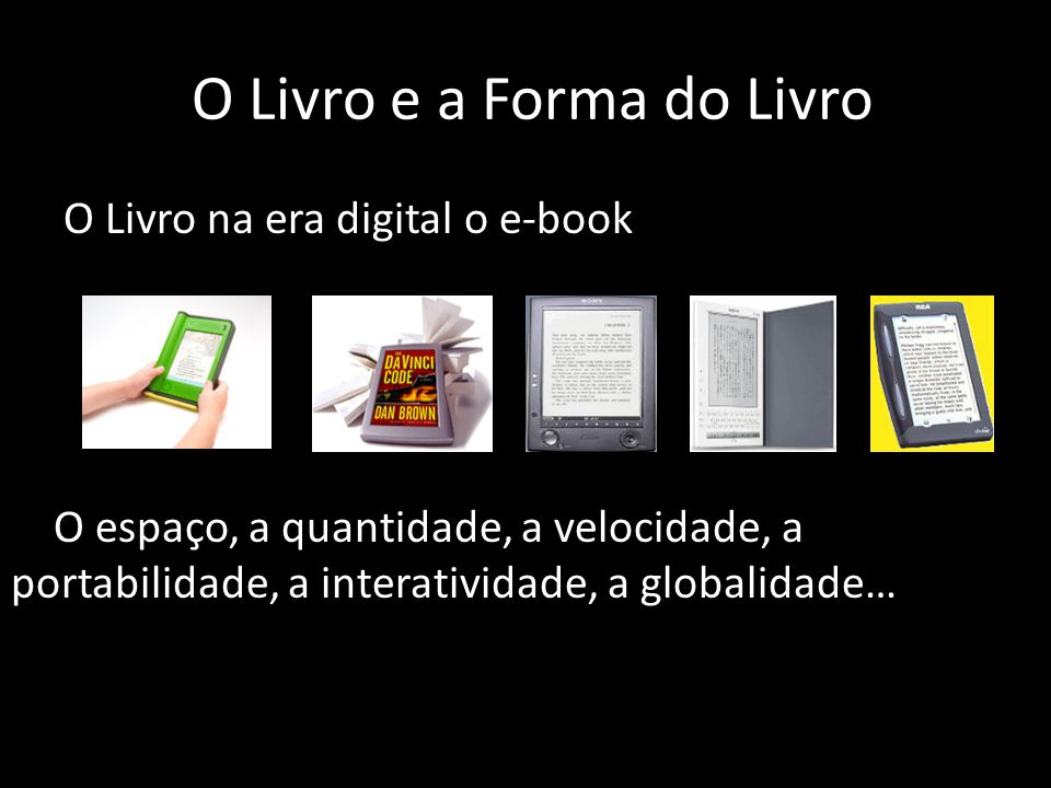 O Livro e a Forma do Livro