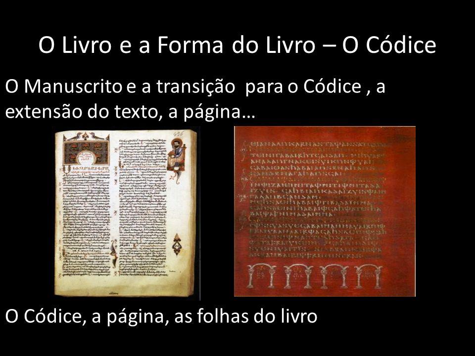 O Livro e a Forma do Livro – O Códice