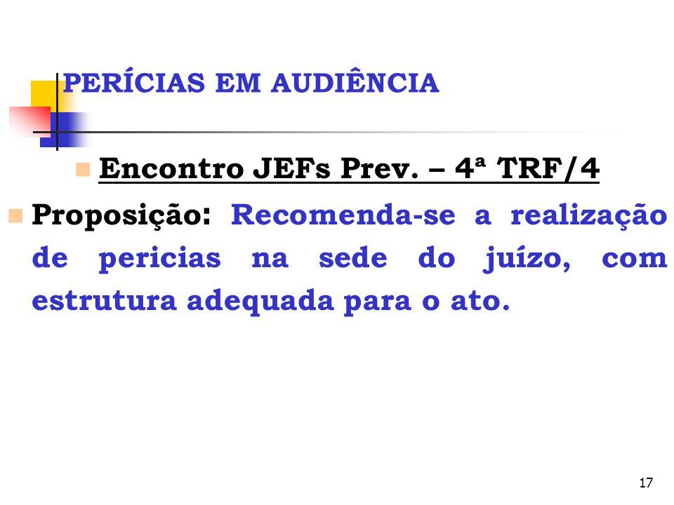 Encontro JEFs Prev. – 4ª TRF/4