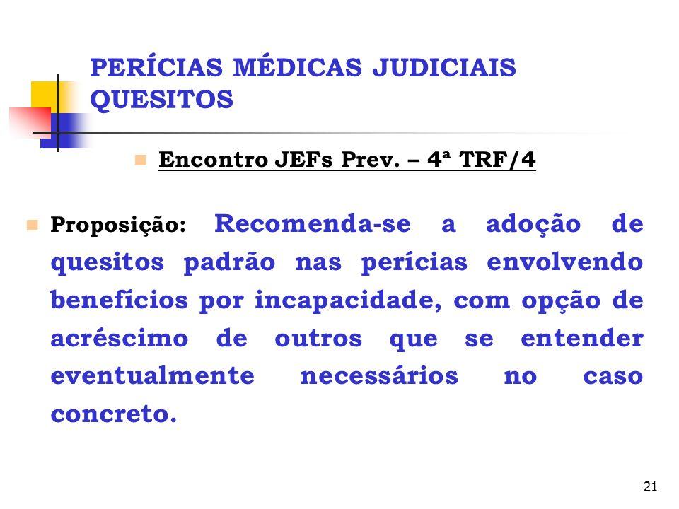 PERÍCIAS MÉDICAS JUDICIAIS QUESITOS
