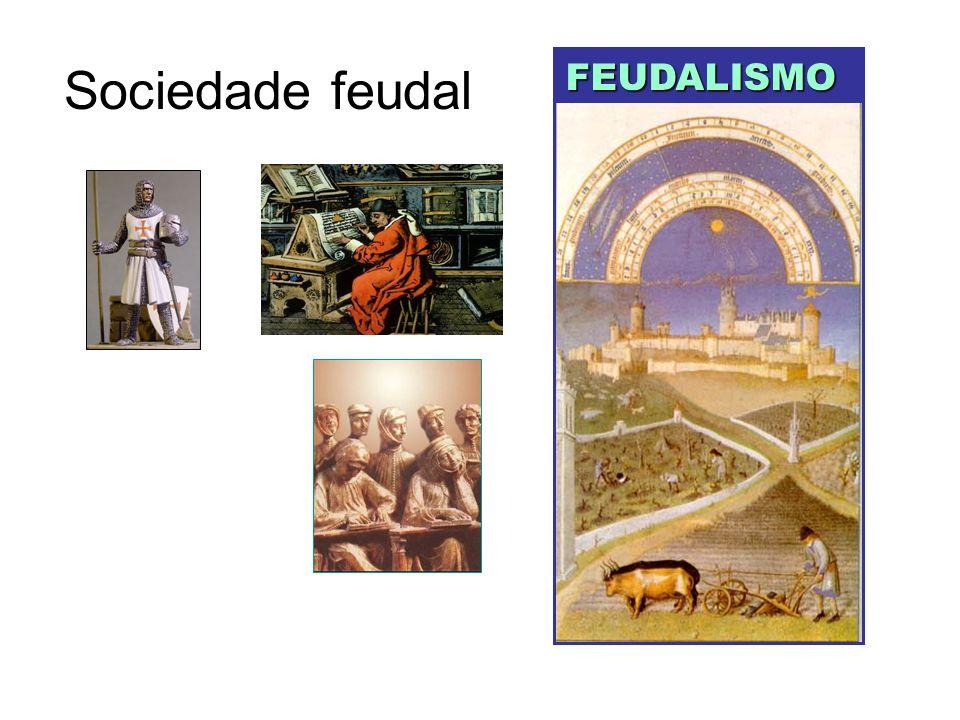Sociedade feudal FEUDALISMO