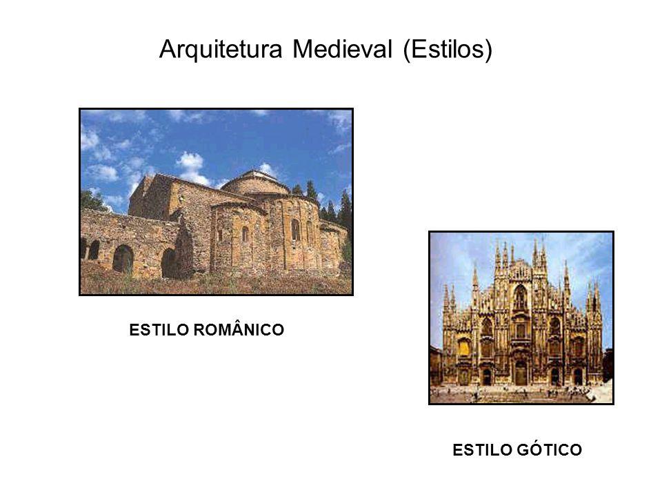 Arquitetura Medieval (Estilos)